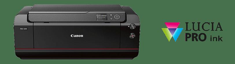 Canon PRO-100 con Tinta Lucia Pro
