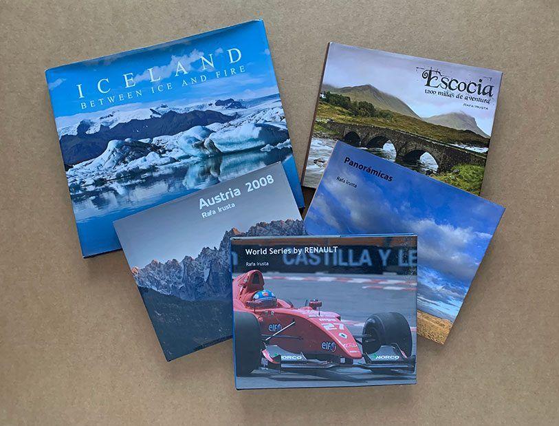 Mis proyectos fotográficos publicados en formato libro
