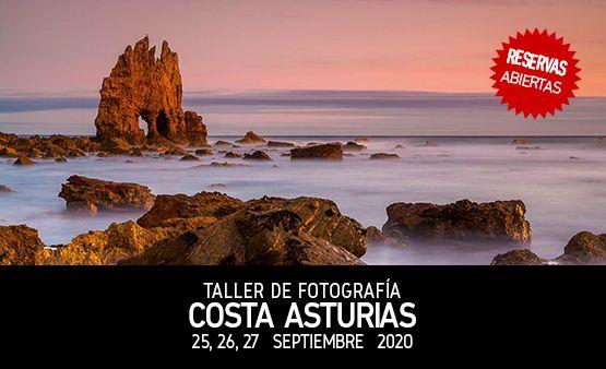 Taller de Fotografía Costa Occidental de Asturias con Rafa Irusta