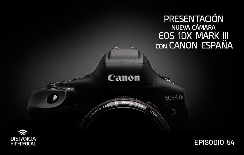 Presentación nueva cámara EOS 1DX Mark III con Canon España