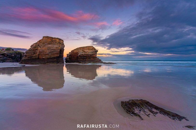 Amanecer en la Playa de las Catedrales, Ribadeo