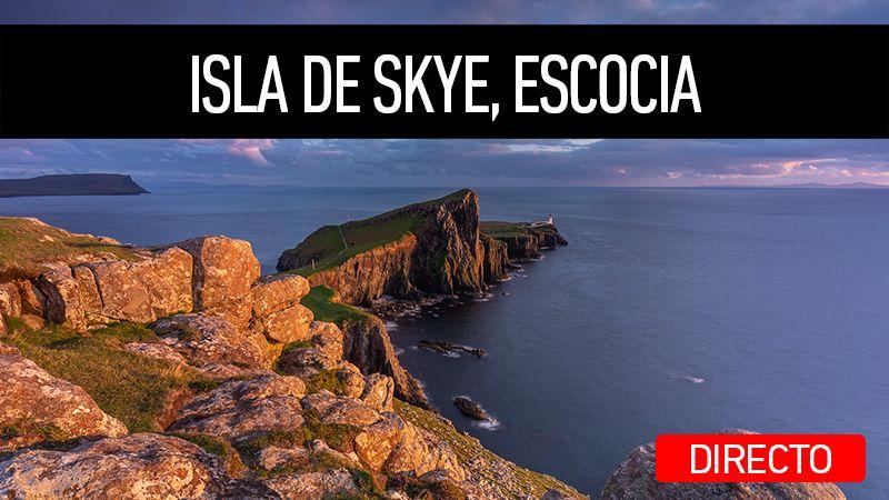 Directo en mi canal de YouTube sobre el viaje a Isla de Skye, Escocia