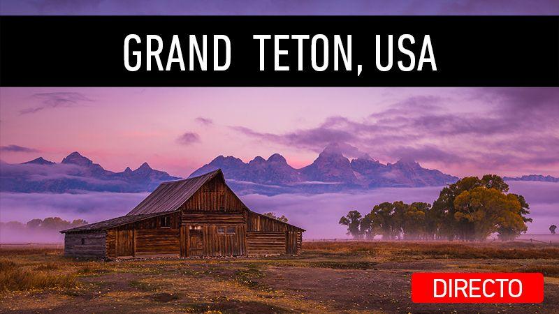 Directo en mi canal de YouTube. Viaje a Grand Teton, USA.