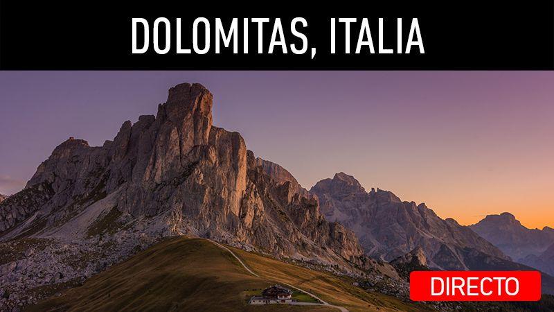 Directo en mi canal de YouTube. Viaje a Dolomitas, Italia