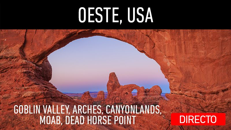 Directo en mi canal de YouTube. Viaje al Oeste de USA, parte 3. Visitando Goblin Valley, Arches, Canyonlands, Moab, Dead Horse Point.