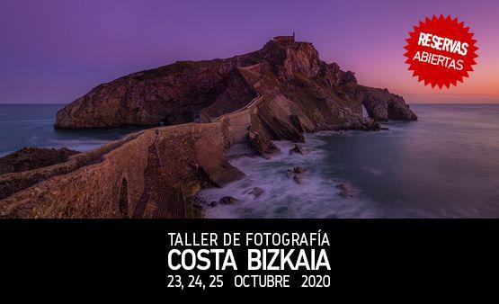 Taller de Fotografía Costa Bizkaia con Rafa Irusta