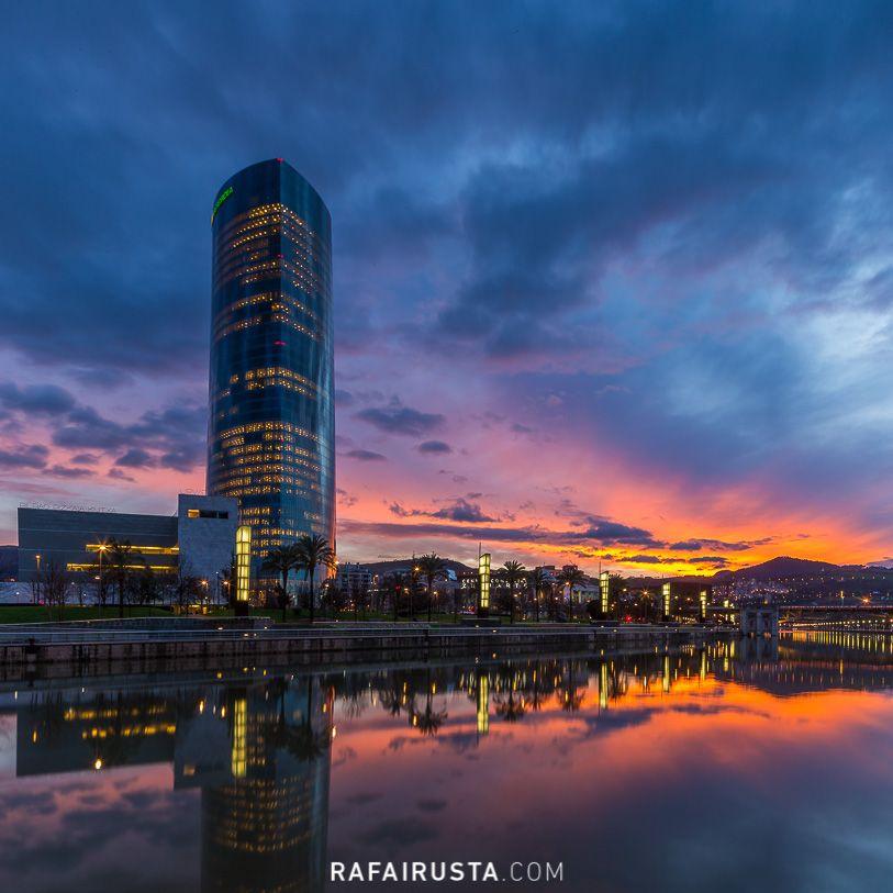 Imágenes usando objetivos descentrables, Bilbao