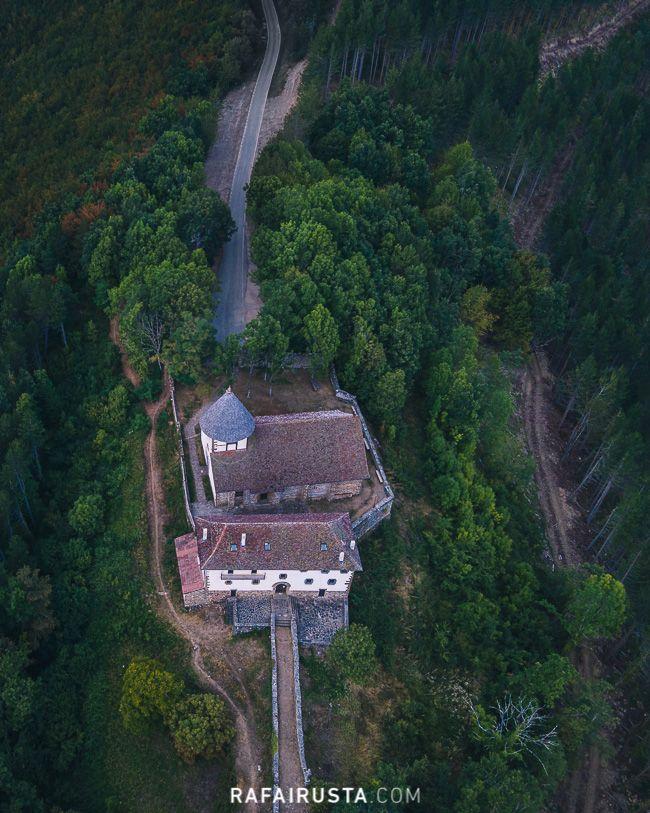Rafa Irusta, imagen aérea con dron, Navarra