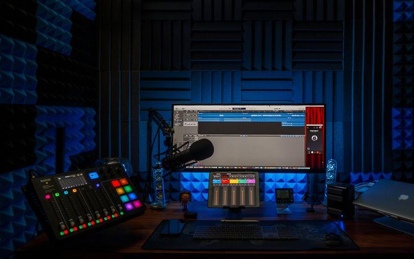 Cómo grabamos y producimos el podcast Distancia Hiperfocal. Estudio de Rafa Irusta