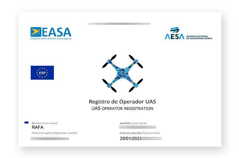 Registro Operador UAS