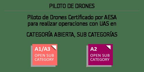 Piloto de Drones Certificado por AESA