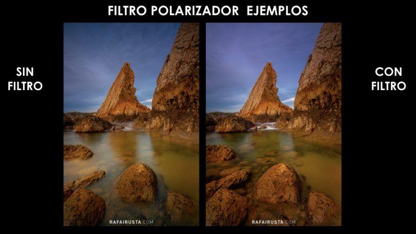 Filtro polarizador y cómo usarlo en Fotografía de Paisaje, ejemplo 1