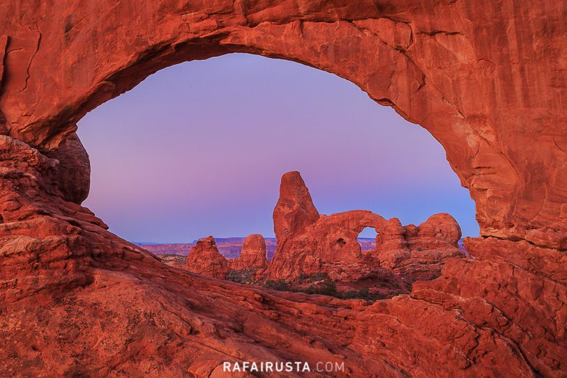 North Window, Arches National Park, Utah, USA